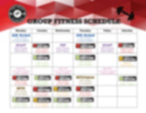Group Fitness Classes- Cartersville Octo