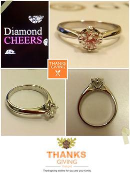 GIA鑽石結婚戒指