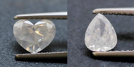 milky diamonds diamond 奶白鑽石 奶油鑽石
