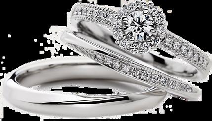 白金鑽石戒指托