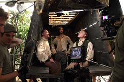 Fallen Soldiers on set