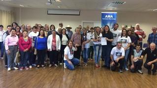 Vereador Rafa realiza doação ao grupo de Apoio a Portadores de Câncer