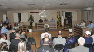 Vereadores realizam a 12ª sessão ordinária