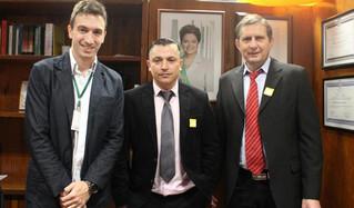 Vereadores Lenir e Nei participam de audiências em Brasília