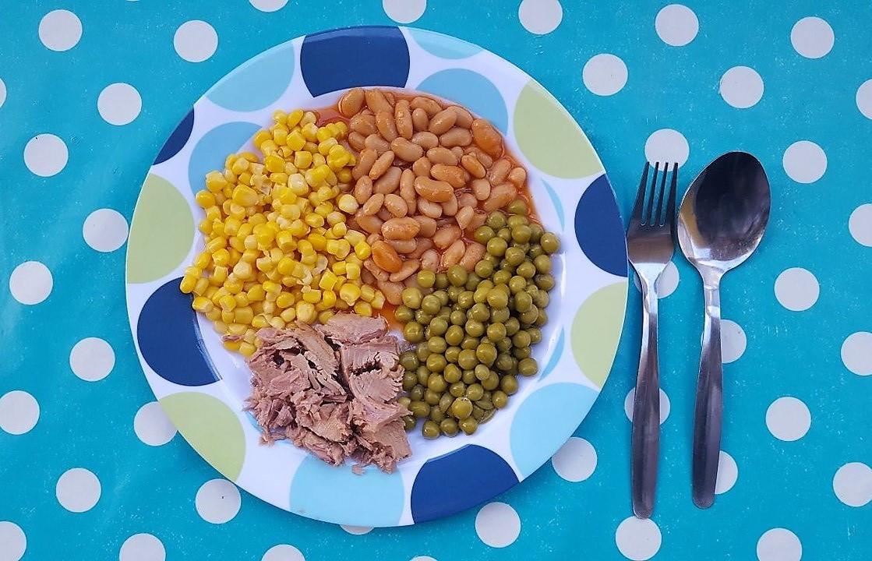 ארוחה מזינה וצבעונית