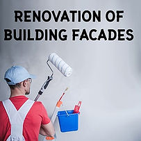 Renovation of building facedes
