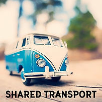 shared transport (image of volkswagen van)