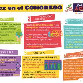 Presentación del candidato Alan Alvarado