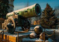 Tsar Cannon in Moscow Kremlin