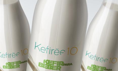Kefirëe10 de leche / 3 piezas 950 ml c/u