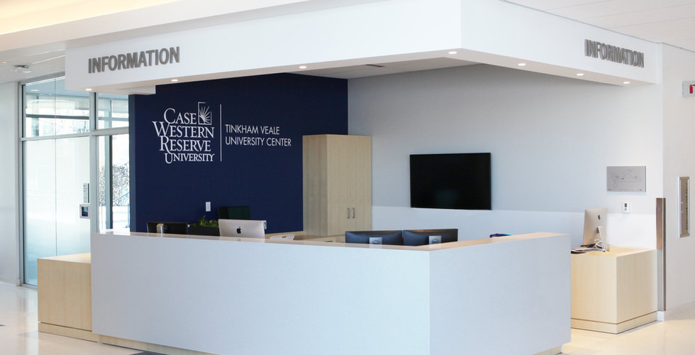 Design and re-branding of an existing information desk