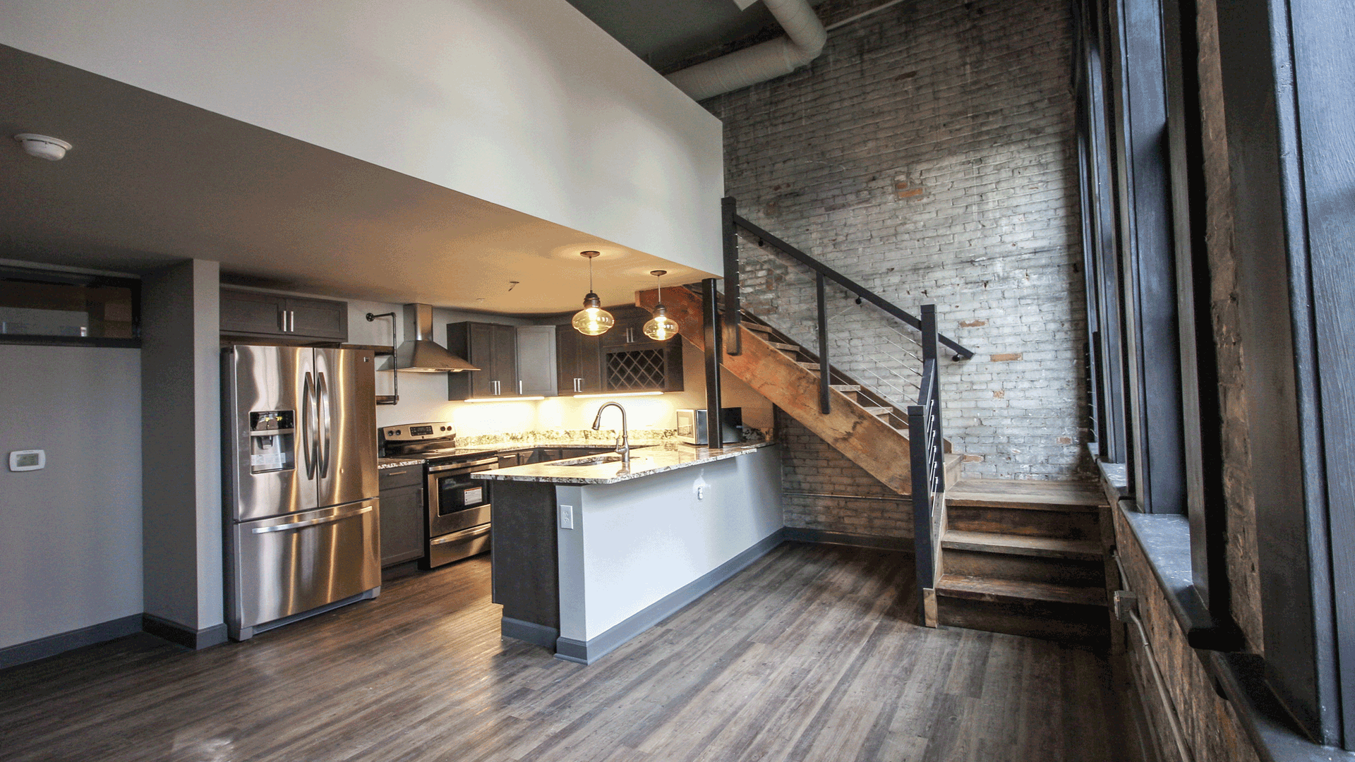 Revamped living in Cleveland's historic Warehouse District after nearly 20 years.