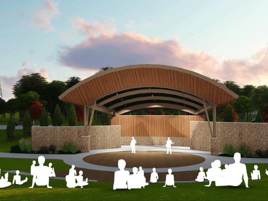The Grove Amphitheatre Design Appoved