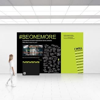 #beonemore