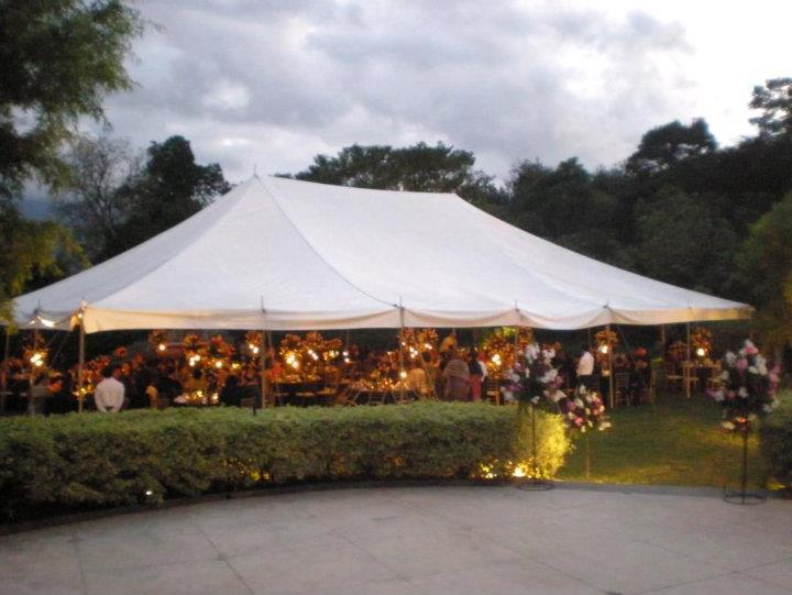 Tent, Garden, Antigua Guatemala