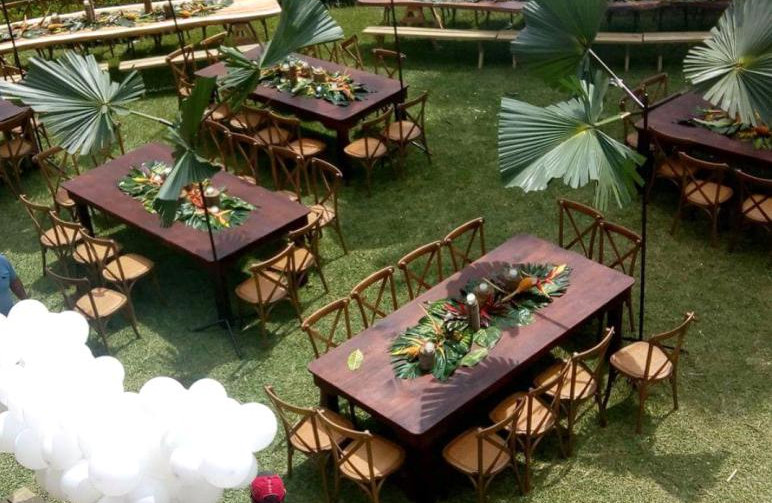 Party rental, wedding venues