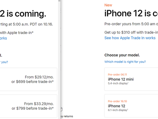 The international iPhone 12 model lacks mmWave...And charges you more for it