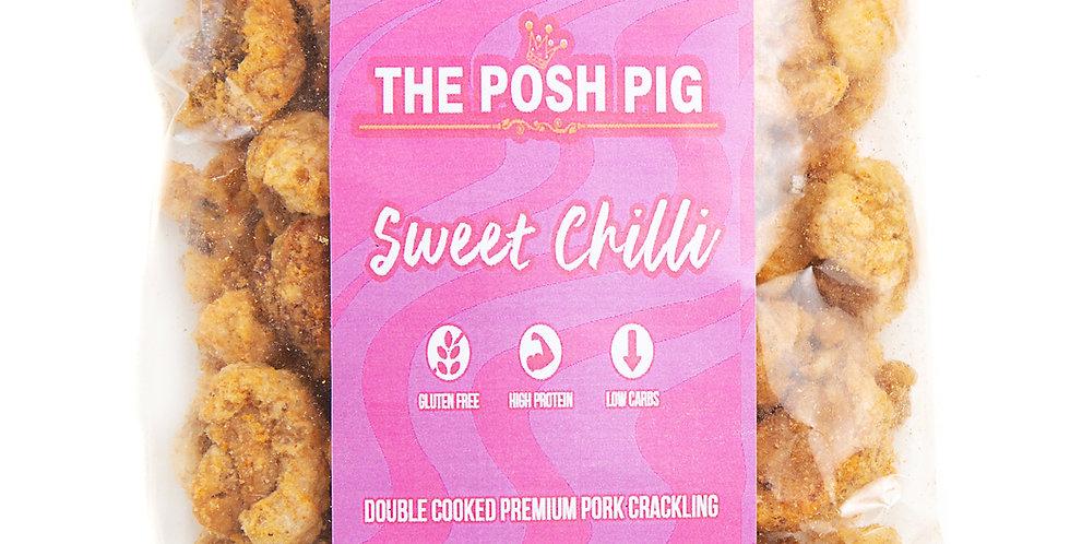 Sweet Chilli flavoured Pork Crackling - Refill Bag - 100g