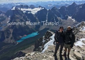 Summit Mount Temple!