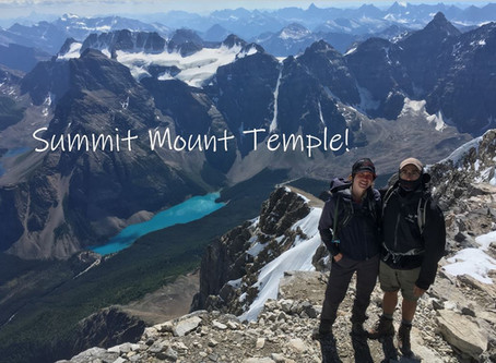 Summit Mount Temple!