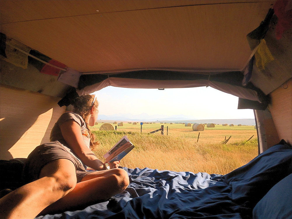 Digital Nomads hiring an RV Rental out of Calgary, Alberta should take the time to enjoy themselves when not working.