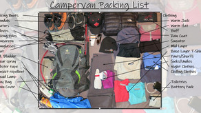 Campervan Packing List