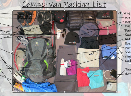 Campervan Packing List