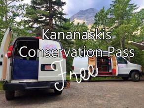Kananaskis Conservation Pass Free with Camper Van Rentals