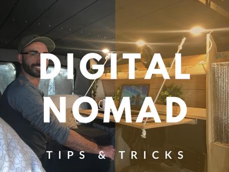 Tips & Tricks for Digital Nomads in a Campervan