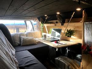 L'Ermite voyageur est conçu pour les travailleurs à distance et les amoureux de la nature