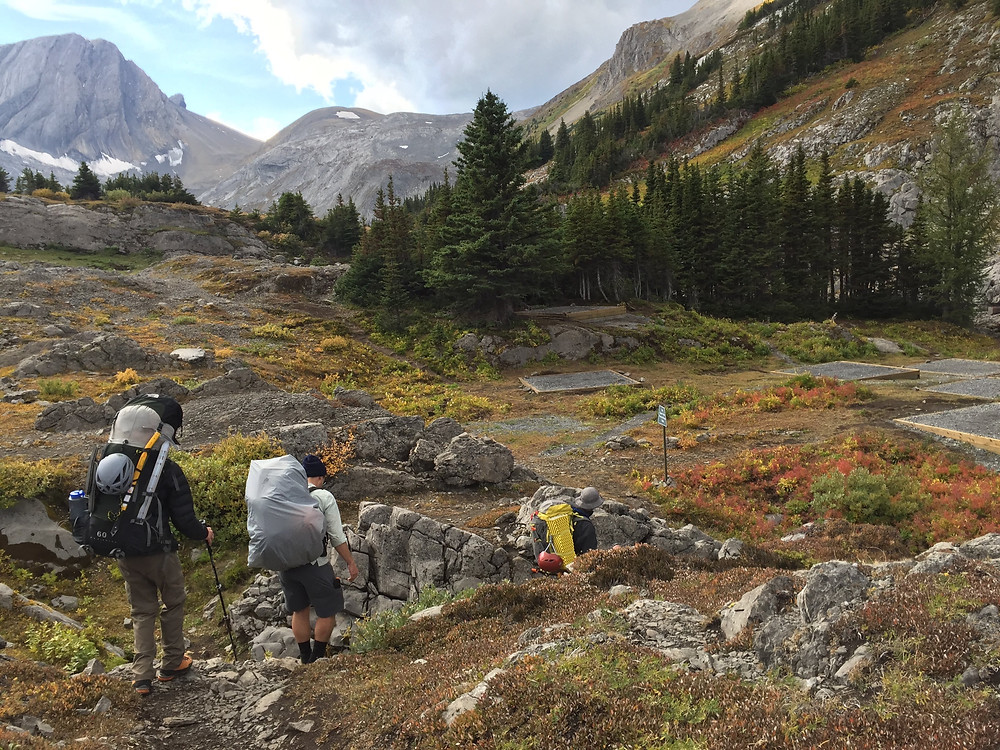 Multi Day Hikes in Kananaskis are easy especially when you have a campervan