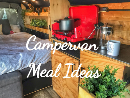 Campervan Meal Ideas