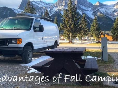 Fall Camping in Alberta