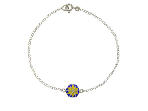 Star Bracelet Blue