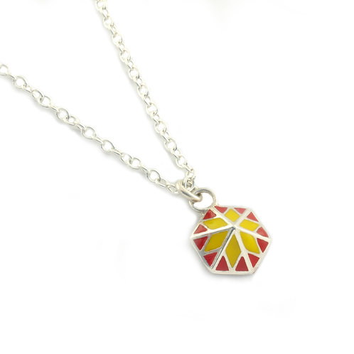 Star Pendant Red