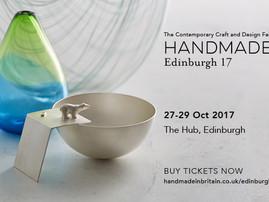 I am exhibiting this weekend at Handmade Edinburgh
