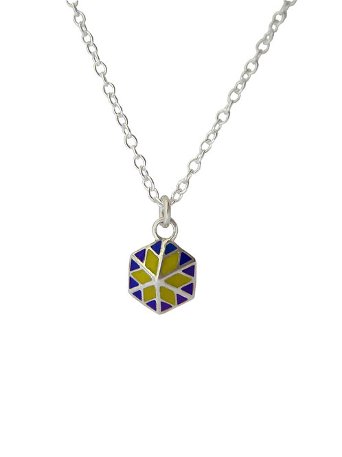 Star Pendant Blue