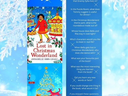 Book Club Questions for Lost in Christmas Wonderland
