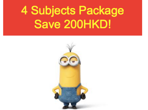 4 Subject FULL NOTE Package ( Save200HKD!)