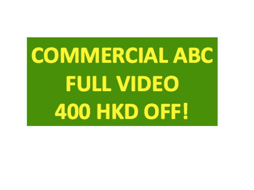 Commercial ABC FULL VIDEO Note SET! 400 HKD OFF!