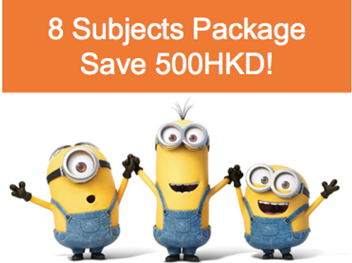 8 subject FULL NOTE package [Save 500HKD!]