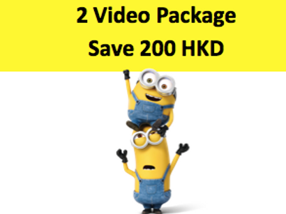 2 Video Package include FULL Notes Save 200 HKD!
