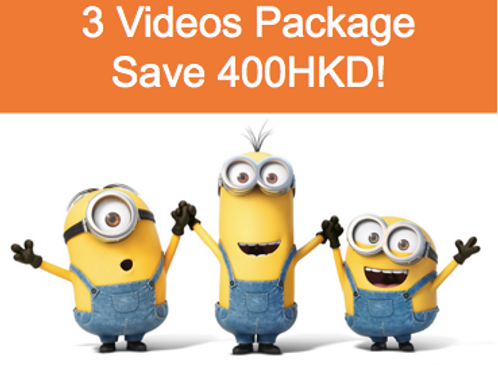 3 Video Ultimate Exam Package- Notes Included ( Save 400HKD!)
