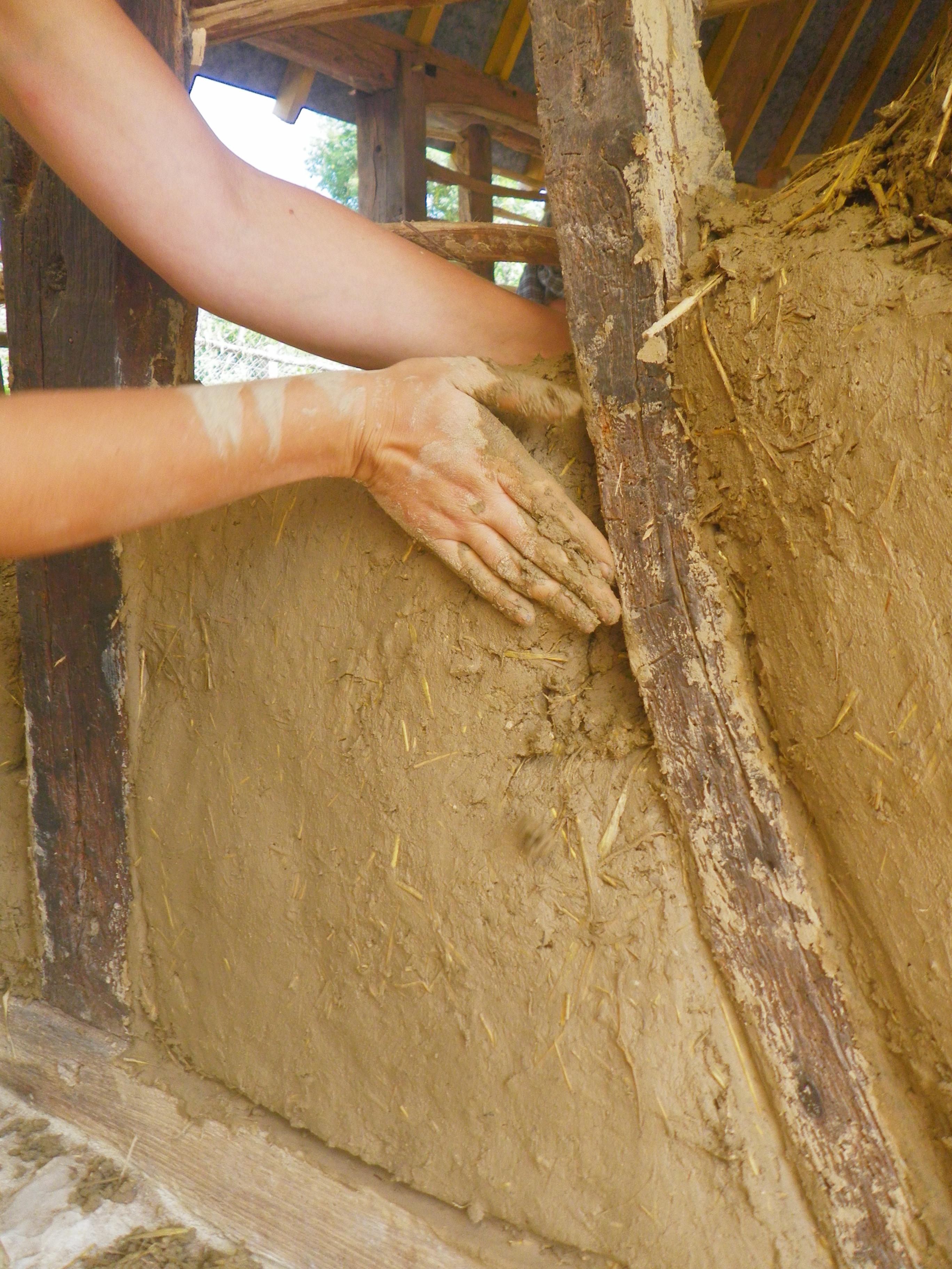 chantier participatif 2015 à L'escargotier