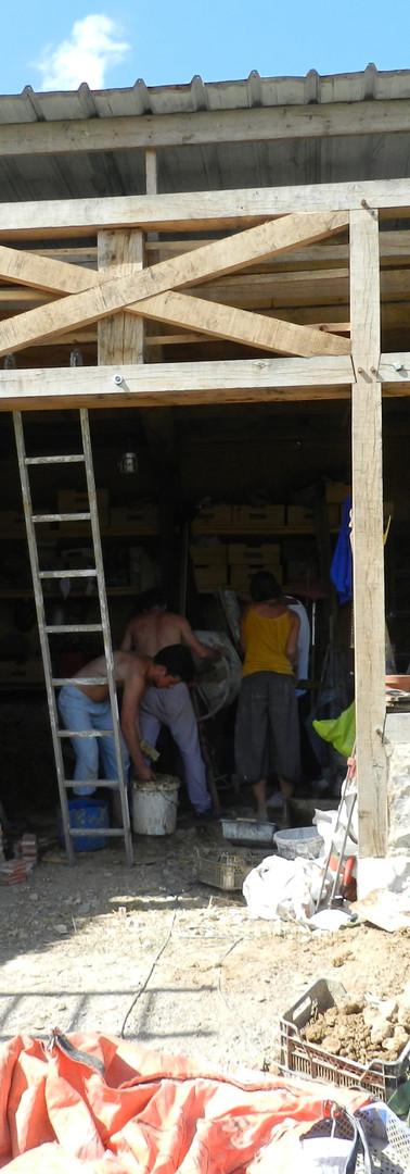 Un chantier école...