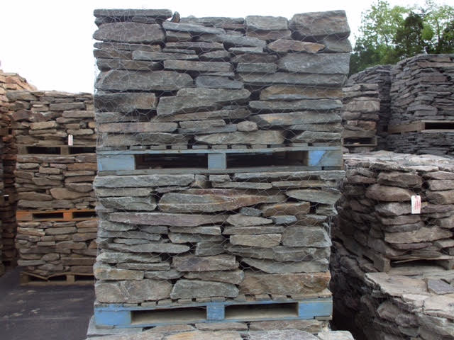 Antique Weathered Blue Wall Stone