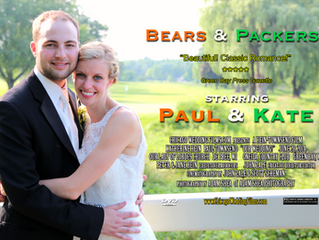 Bears vs. Packers; a wedding