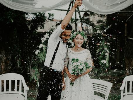 Эффектный выход: чем удивить гостей на свадьбе?