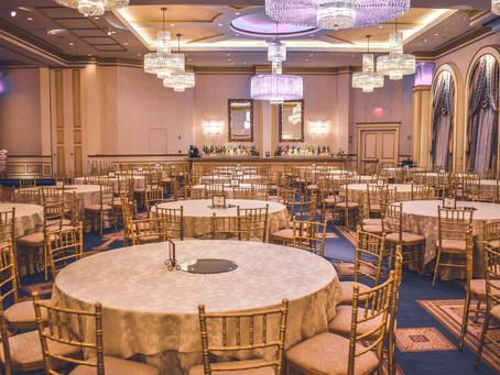 Свадебная площадка: как найти правильную цветовую палитру для зала?