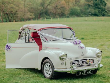 Транспорт на свадьбе: автомобиль для молодоженов